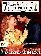 Shakespeare-in-Love-DVD-1999-FREE-SHIPPING