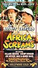 Africa Screams (VHS, 2000)