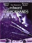 Edward Scissorhands (DVD, 2002, Full Screen Edition)