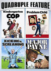 Family Comedy Pack Quadruple Feature (DVD, 2008, 2-Disc Set)