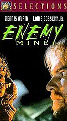 Enemy-of-Mine-1997-VHS-sci-fi-aliens-planets-Dennis-Quaid-Louis-Gossett-Jr