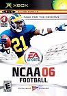 NCAA Football 06 Microsoft Xbox 2005 Video Games