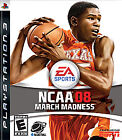 NCAA March Madness 08  (Sony Playstation 3, 2007) (2007)