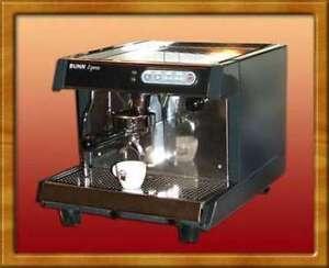 Bunn ES-1A HX espresso machine
