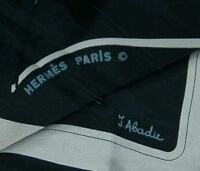 Hermes - Copyright Marks on Vintage Silk Scarves