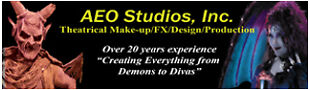 AEO Studios-Make-Up FX Supplies