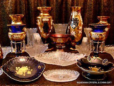 Bohemian Crystal and China Gift