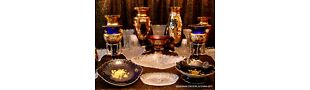 Bohemian Crystal and China Gift