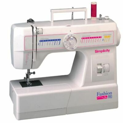 Simplicity Fashion Pro SW40 Mechanical Sewing Machine EBay Unique Simplicity Fashion Pro Sewing Machine