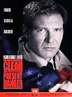 Clear and Present Danger (DVD, 1998, Sensormatic)