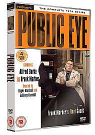 Public Eye - The Complete 1975 Series (DVD, 2009, 4-Disc Set)   ^disp. in 24hrs!