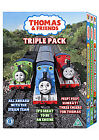 Thomas And Friends - All Aboard With The Steam Team/It's Great To Be An Engine/Peep! Peep! Hurray! (DVD, 2009, 3-Disc Set, Box Set)