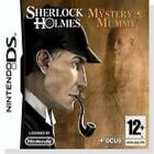 Sherlock Holmes: The Mystery of the Mummy (Nintendo DS, 2009)