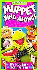 Muppet Sing-Alongs - Its Not Easy Being Green (VHS, 1994 ... The Muppet Movie Vhs 1994