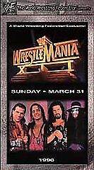 WWF-WrestleMania-12-VHS-Complete-in-Box-Shawn-Michaels-vs-Bret-034-Hitman-034-Hart