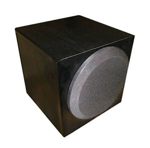 yamaha subwoofer yst sw012 woofer sub powered home theater 8 powerful. Black Bedroom Furniture Sets. Home Design Ideas