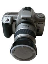 Analoge Minolta Spiegelreflexkameras mit manueller Programmausführung