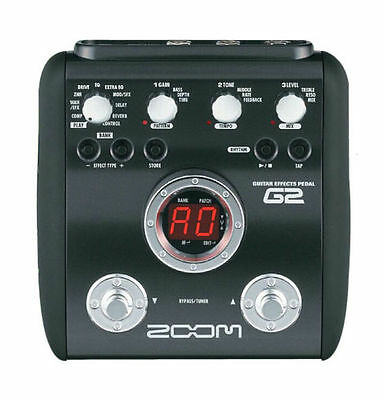 zoom multi effects guitar effect pedal ebay. Black Bedroom Furniture Sets. Home Design Ideas