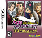 Ace Attorney Investigations: Miles Edgeworth (Nintendo DS, 2010)
