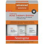Neutrogena Complete Acne Therapy System Brand New SEALED WITH FAST FREE SHIPPING