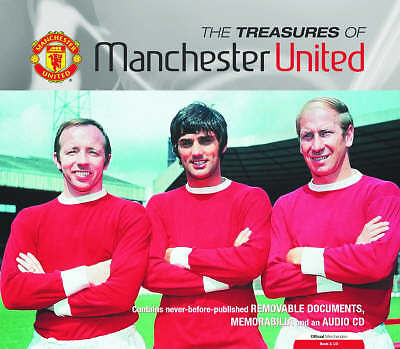 The Treasures of Manchester United by Sam Pilger, Mark Wylie (Hardback, 2003)
