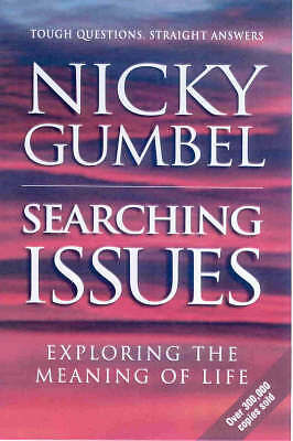 """AS NEW"" Searching Issues (Alpha), Gumbel, Nicky, Book"