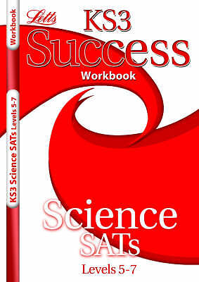 KS3 Success Workbook Science Levels 5-7 by Letts Educational (Paperback, 2007)