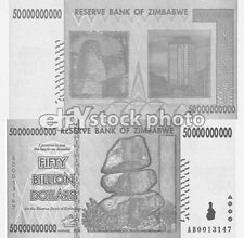 Circulated Banknote Zimbabwean Paper Money
