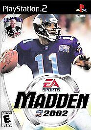 Madden-NFL-2002-Sony-PlayStation-2-2001-CIB-COMPLETE