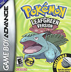 Pokemon: LeafGreen Version (Nintendo Game Boy Advance, 2004)