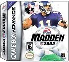 Madden NFL 2002 (Nintendo Game Boy Advance, 2001)