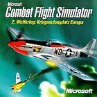 Microsoft Combat Flight Simulator: WWII Europe Series (PC, 1998) - European Version