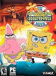 spongebob squarepants movie pc 2004 european version