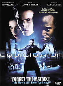 Equilibrium Christian Bale Diggs DVD Edited Clean Flicks Family CleanFlick Movie