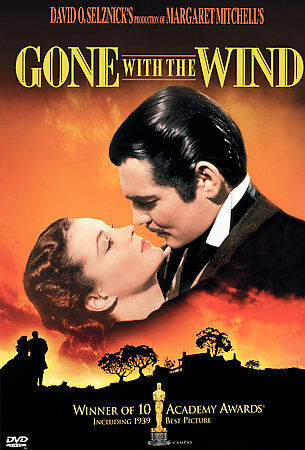 Gone With The Wind (DVD, 2000) Clark Gable, Vivien Leigh, Leslie Howard