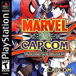 Marvel vs  Capcom: Clash of Super Heroes (Sony PlayStation 1, 2000) for  sale online | eBay