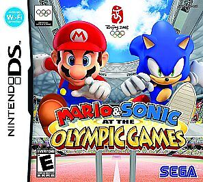 mario sonic at the olympic games nintendo ds 2008 ebay