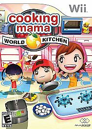 Image Is Loading Cooking Mama World Kitchen Nintendo Wii 2008 Free