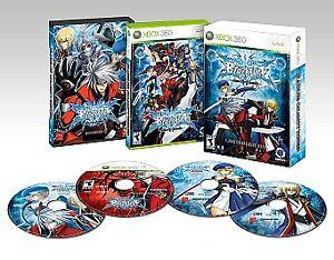 BlazBlue: Calamity Trigger -- Limited Edition (Microsoft Xbox 360, 2009)