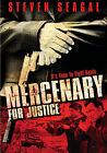 Mercenary for Justice (DVD, 2009, Full Frame/Widescreen Repackaged)