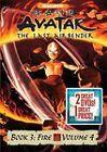 Avatar - The Last Airbender: Book 3 - Fire, Vols. 3  4 (DVD, 2010, 2-Disc Set)