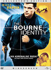 The Bourne Identity (DVD, 2003, Widescreen)
