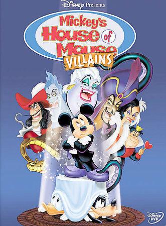 disney mickeys house of villains dvd