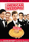 American Wedding (DVD, 2004, Widescreen Unrated Extended Party Edition)