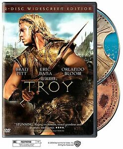 TROY-2-Disc-DVD-Brad-Pitt-Eric-Bana-Orlando-Bloom-NEW