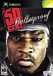 50-Cent-Bulletproof-XBOX-GREAT-SHAPE-GAME-DISC-ONLY