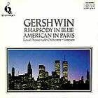 Gershwin: Rhapsody in Blue; An American in Paris; Lullaby for Strings (CD, Feb-1993, Quintessence)