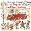Richard Scarry's a Day at the Fire Station von Richard Scarry und Huck Scarry (2003, Taschenbuch)