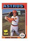 1975 Topps Greg Gross Houston Astros #334 Baseball Card