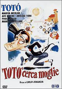 Totò cerca moglie (1950) DVD